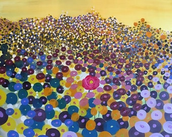 Print- Field of Flowers