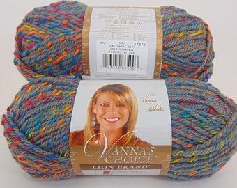 Patchwork Grey - Lion Brand Vanna's Choice Yarn - 3030
