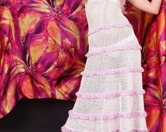 Handmade knitted dress