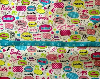 Barbie Icon Fabric-By-The-Yard
