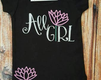 Baby Girl Clothes, All Girl Shirt