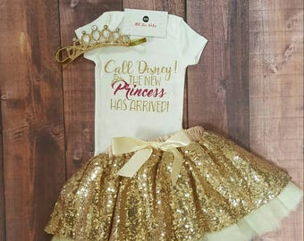 Baby Girl Clothes, Call Disney The New Princess Has Arrived!