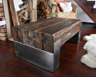 poutre etsy. Black Bedroom Furniture Sets. Home Design Ideas