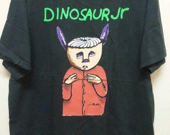 Vintage 90's Dinosaurs Jr shirt / 90s.nirvana/mudhoney/pearl Jam/soundgarden/Made in usa.xl size