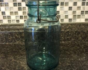 Blue Ball Mason Jar.