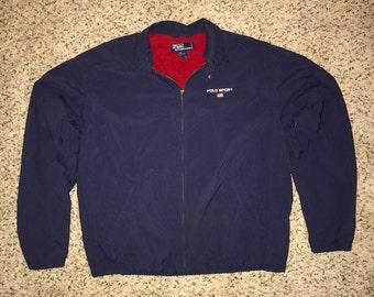 Ralph Lauren Polo Sport Fleece Lined Jacket Size L