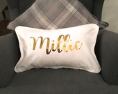 Personalied Name Cushion  Decorative Pillow  Name Cushion  Personalised Gift  Bedroom Accessories   New Home Gift