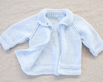 Vintage Knit One-Buttoned Cardigan, Newborn
