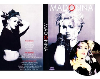 First Album Deluxe Edition DVD Remix Performance Live - Madonna