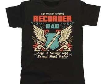 Worlds Greatest RECORDER Dad