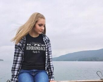 Adirondack Supply Co. Tee (Black)