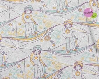 Manga boys organic Jersey fabric of Lille (19.52 EUR / meter)