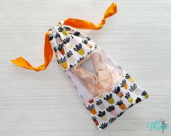 Ballet Pointe Shoe Bag - Dance Shoe Bag - Ballet Bag   Tiny Succulents