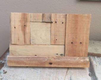 iPad Stand Wood Pallet