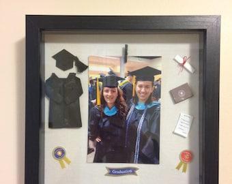Graduation Shadow Box Memory Frame