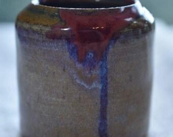 Handmade Ceramic Container 'Drip'