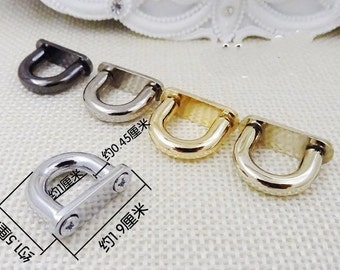5 set of 2cm  gold silver gunmetal alloy buckle lock  bag hardware,purse hardware,hanbag hardware