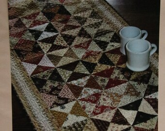 """Table Runner Quilt Kit """"Hour by Hour"""" by Country Threads"""