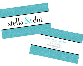 Stella and Dot, Stella & Dot, Business Cards, Cards, Printable, Download, affordable, stella cards, marketing, branding
