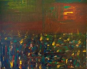 Modern art, abstract original