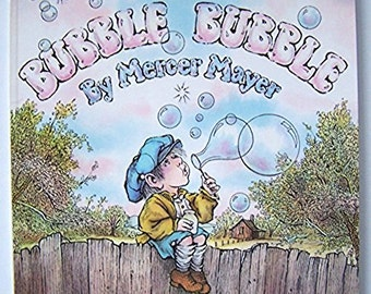 Bubble Bubble by Mercer Mayer - Children's Book - Paperback - Imagination,  Daydream, Fantasy