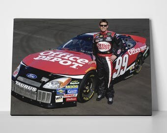 Carl Edwards Poster Limited Edition Carl Edwards  Poster | Carl Edwards Canvas
