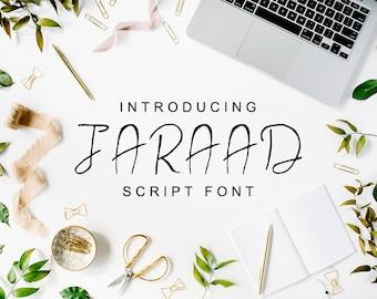 Jaraad Script Typeface