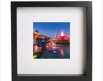 london trafalgar square charing cross square photo print use in ikea ribba frame looks great framed for gift free shipping