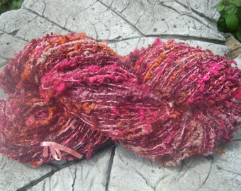 "Summer fruits ""skein of spun yarn , thread loops"