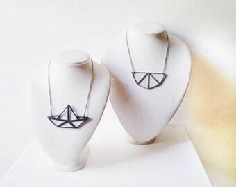 Transparent necklace