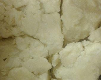 Organic Ghanaian Ivory Shea Butter, unrefined, raw, bulk - all natural, NonGMO