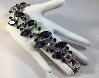 D&E JULIANA  Bracelet Sapphire Navettes