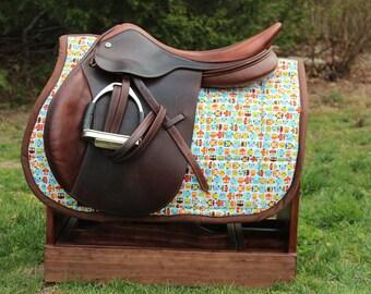 Owl saddle Pad