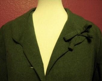 Vintage Green Suit Jacket