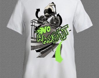 Free Style BMX Bike race Sport T-shirt