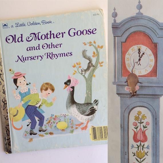 Un pequeño libro de oro  viejo ganso de madre y otras rimas