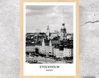 Stockholm, Sweden, Stockholm Photo, Stockholm Print, Stockholm Poster, Sweden Print, Sweden Poster, Sweden Photo, City Print, City Poster