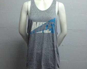 Offer !!! VINTAGE 1980s RARE !!! Nike Singlet Sleeveless Made in USA