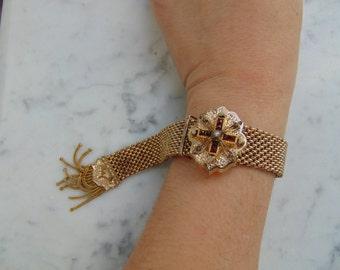 Beautiful Victorian Mesh Bracelet
