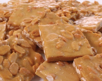 Gourmet Peanut Brittle by Its Delish (One Pound)