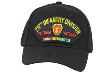 25th Infantry Division Vietnam Veteran Cap