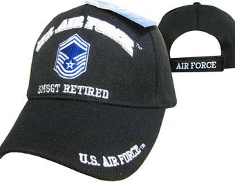 US Air Force Senior Master Sergeant Retired Ball Cap