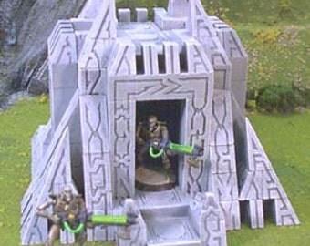 Sci-Fi Portal Tomb