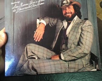"""David Frizzell """"The Familys fine but this one's all mine"""" vinyl record album LP"""
