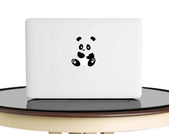 Macbook decal, Panda Decal, Panda Sticker,Panda ,Laptop Decal, Car Decal, Macbook Decal, Laptop Sticker,
