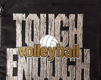 Volleyball Cinch Bag