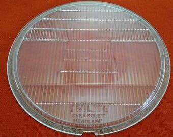 1930's Chevrolet Twilite Headlamp lense