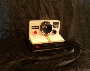 Polaroid land camera One Step Instant vintage camera