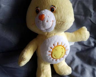 Vintage Funshine bear sunshine Care Bear plush