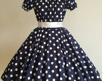 Rockabilly 50s prom dress with satin taffeta prom dance dress